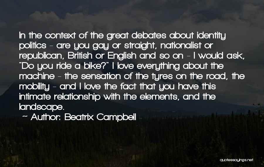 English Debates Quotes By Beatrix Campbell