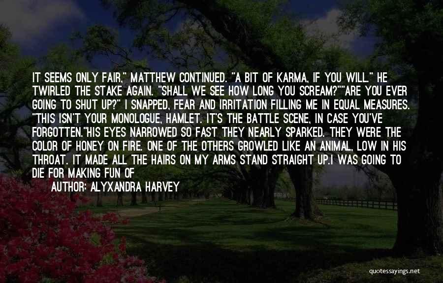 English Lit Quotes By Alyxandra Harvey