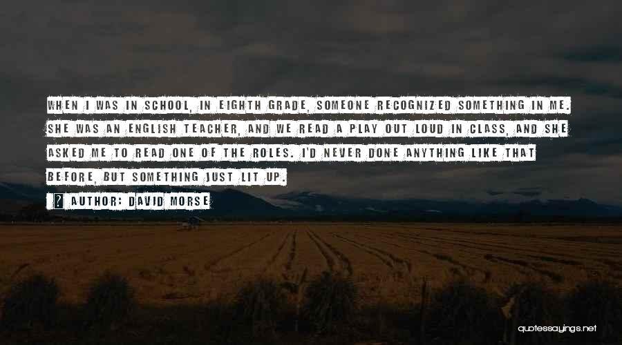 English Lit Quotes By David Morse
