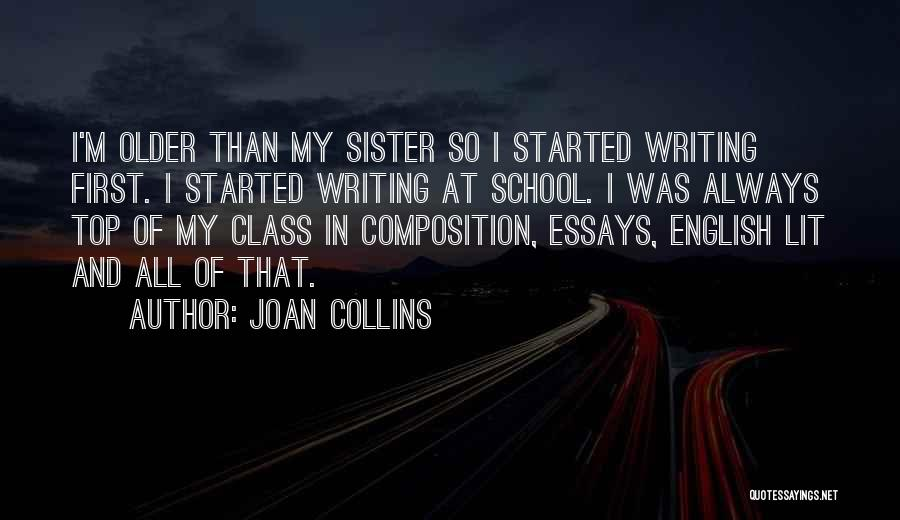 English Lit Quotes By Joan Collins