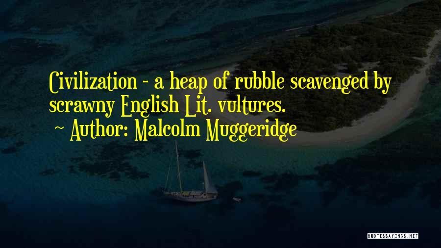English Lit Quotes By Malcolm Muggeridge