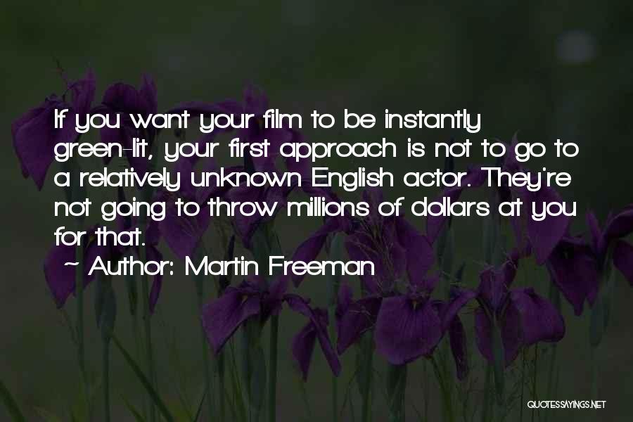 English Lit Quotes By Martin Freeman