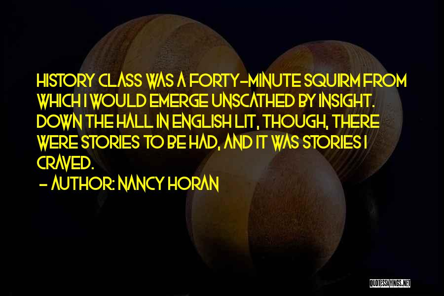 English Lit Quotes By Nancy Horan