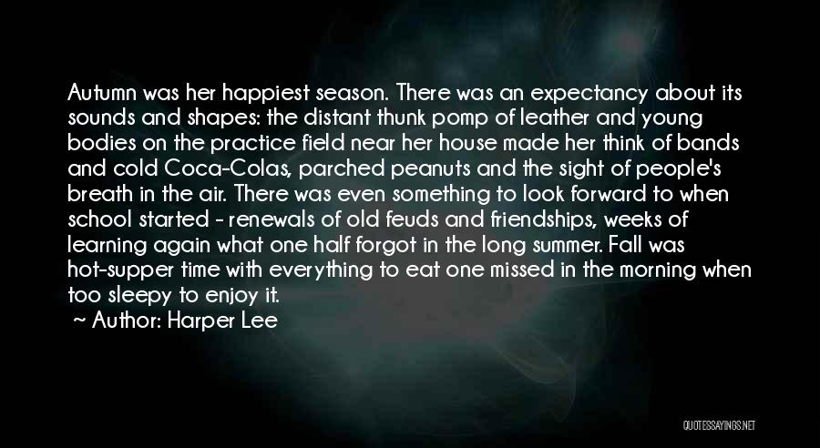 Enjoy The Summer Quotes By Harper Lee