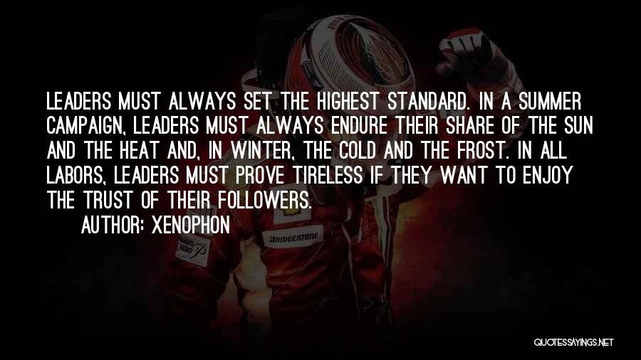 Enjoy The Summer Quotes By Xenophon