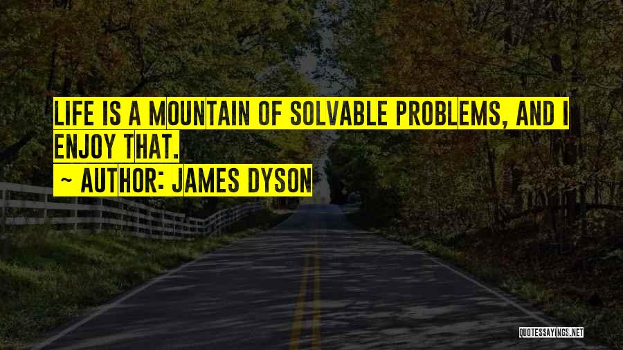 Enjoy Your Life Without Me Quotes By James Dyson