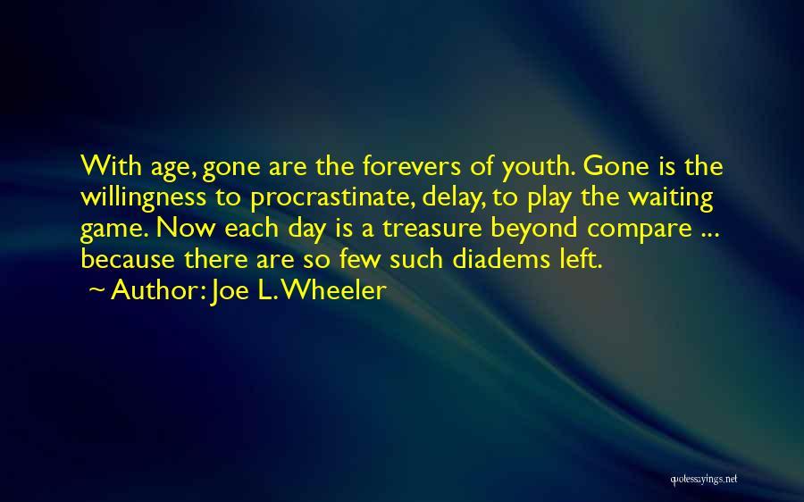 Enjoying Life As It Is Quotes By Joe L. Wheeler