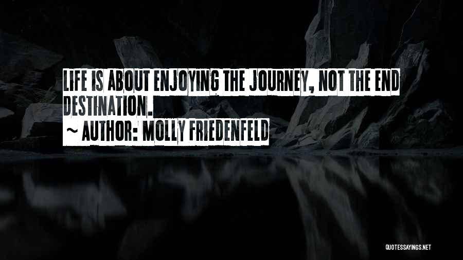 Enjoying Life As It Is Quotes By Molly Friedenfeld