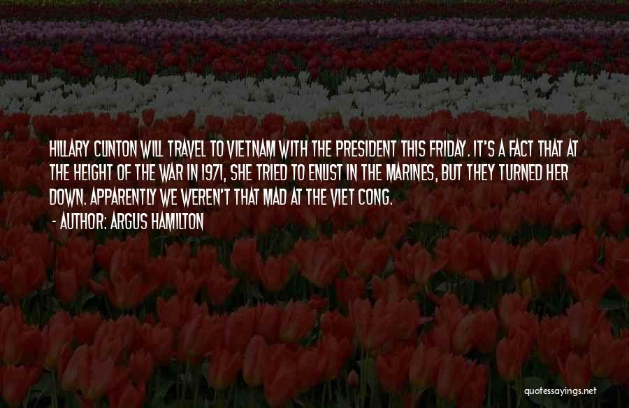 Enlist Quotes By Argus Hamilton