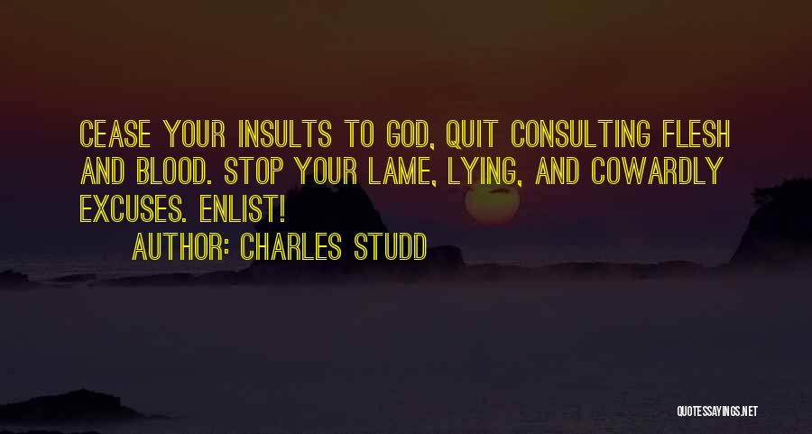 Enlist Quotes By Charles Studd