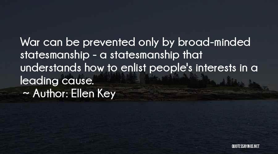 Enlist Quotes By Ellen Key
