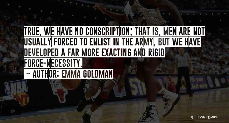 Enlist Quotes By Emma Goldman