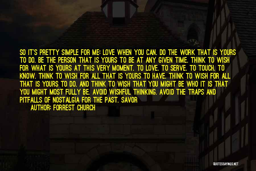 Enlist Quotes By Forrest Church