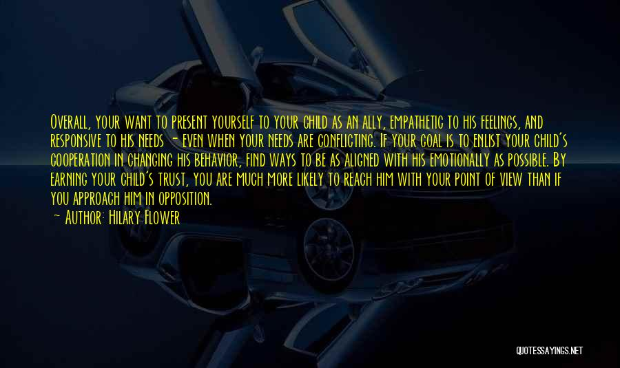 Enlist Quotes By Hilary Flower