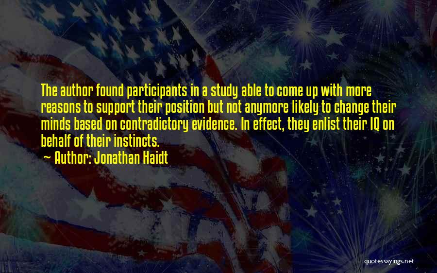Enlist Quotes By Jonathan Haidt