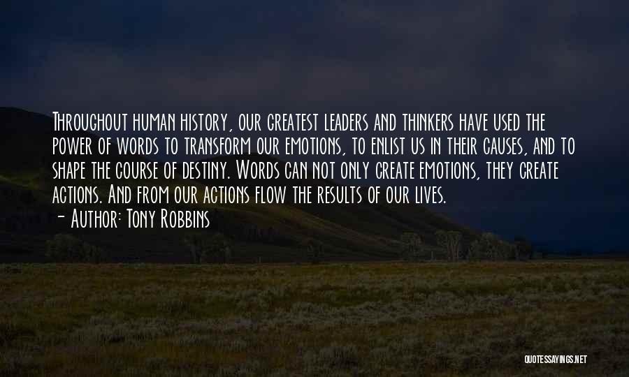 Enlist Quotes By Tony Robbins
