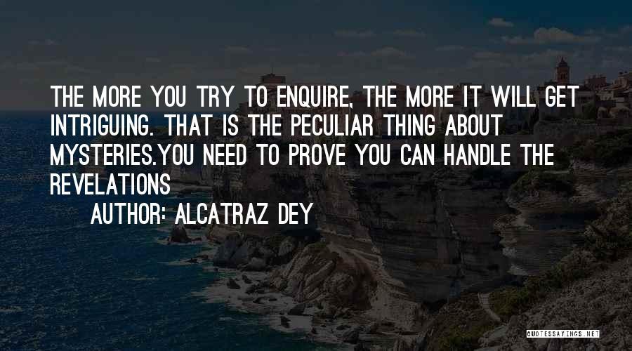 Enquire Quotes By Alcatraz Dey