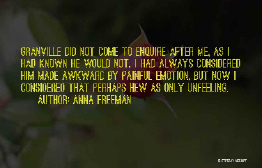 Enquire Quotes By Anna Freeman
