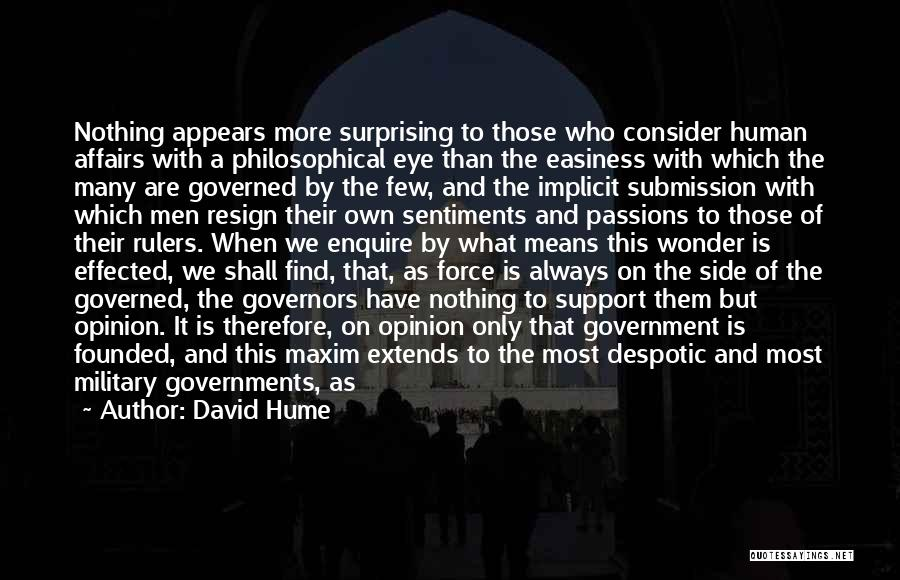 Enquire Quotes By David Hume