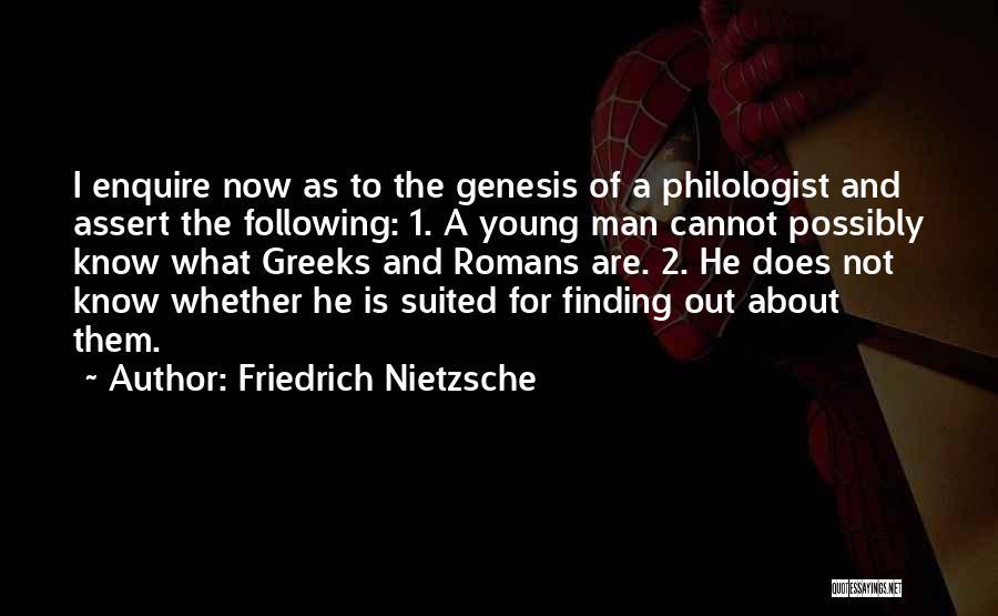 Enquire Quotes By Friedrich Nietzsche