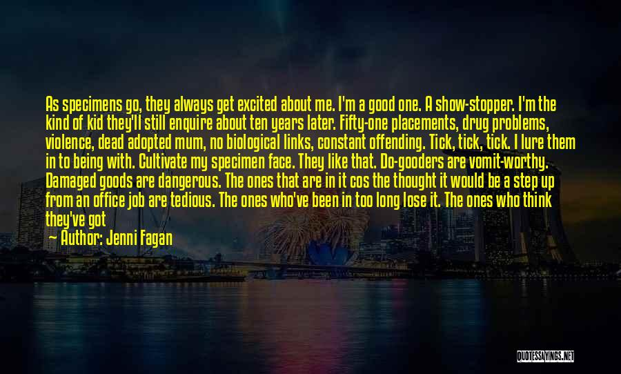 Enquire Quotes By Jenni Fagan
