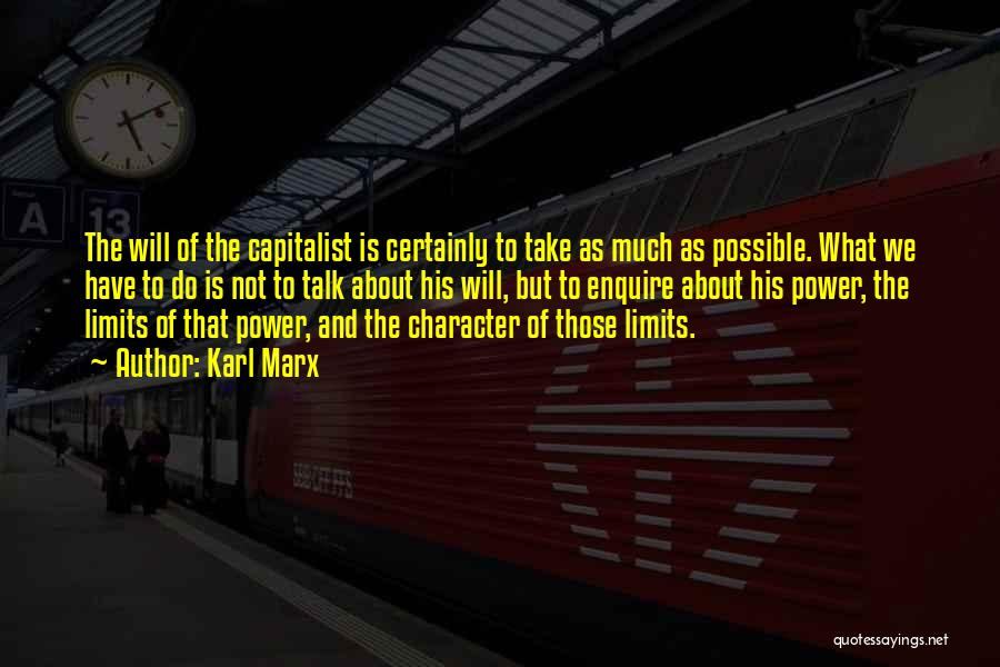 Enquire Quotes By Karl Marx