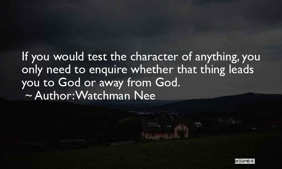 Enquire Quotes By Watchman Nee