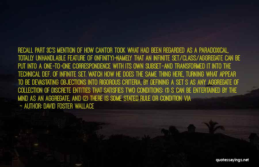 Entity Quotes By David Foster Wallace