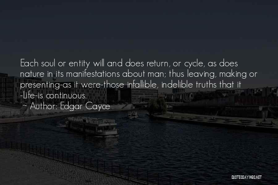 Entity Quotes By Edgar Cayce