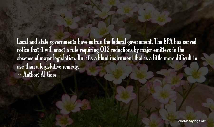 Epa Quotes By Al Gore