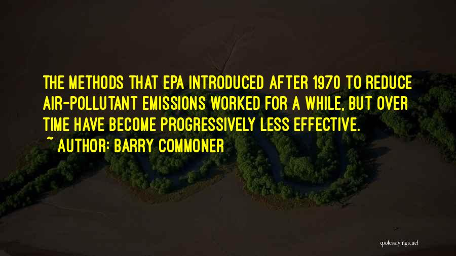 Epa Quotes By Barry Commoner