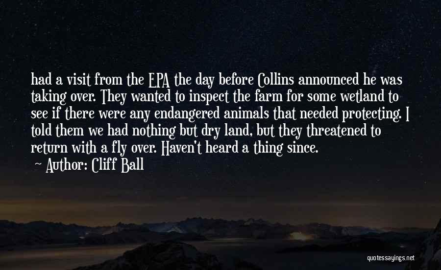 Epa Quotes By Cliff Ball