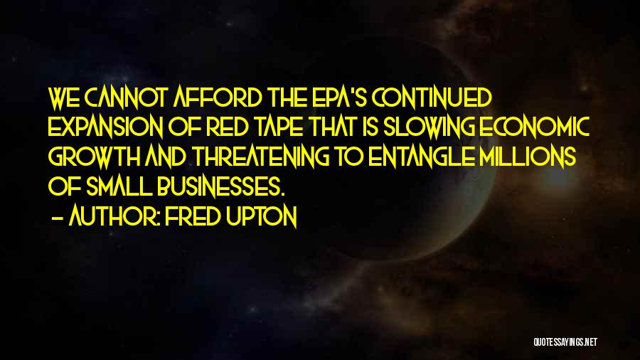 Epa Quotes By Fred Upton