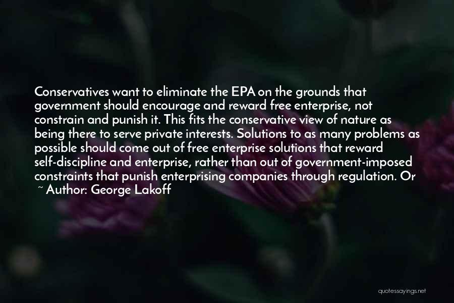 Epa Quotes By George Lakoff