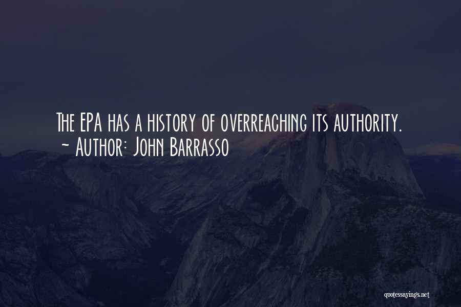 Epa Quotes By John Barrasso