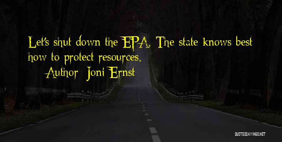 Epa Quotes By Joni Ernst