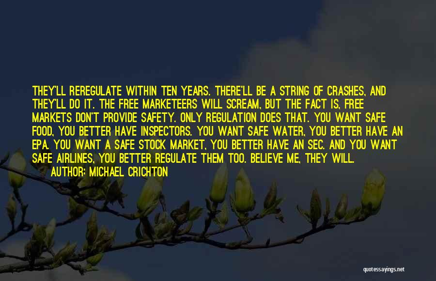 Epa Quotes By Michael Crichton
