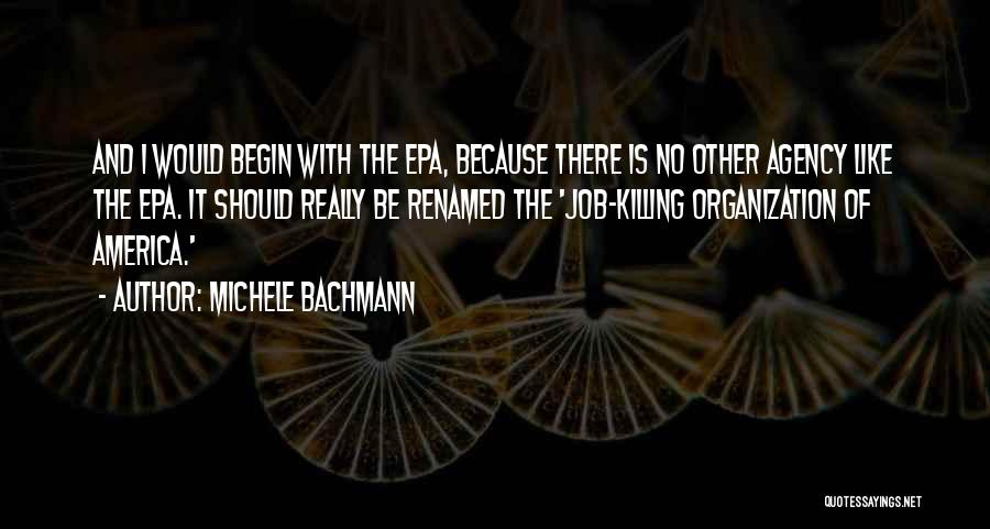 Epa Quotes By Michele Bachmann