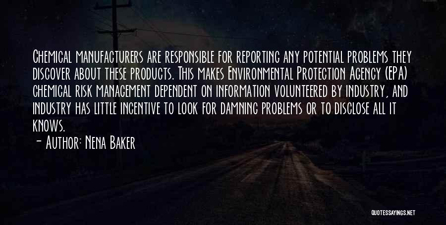Epa Quotes By Nena Baker