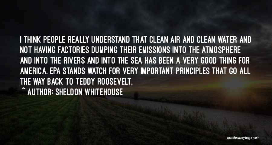 Epa Quotes By Sheldon Whitehouse