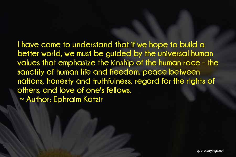 Ephraim Katzir Quotes 1215365