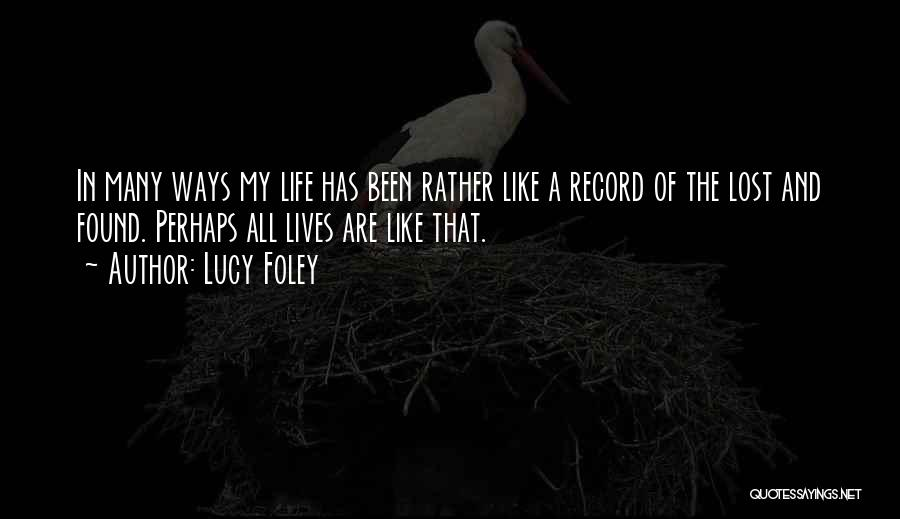 Epic Stories Quotes By Lucy Foley