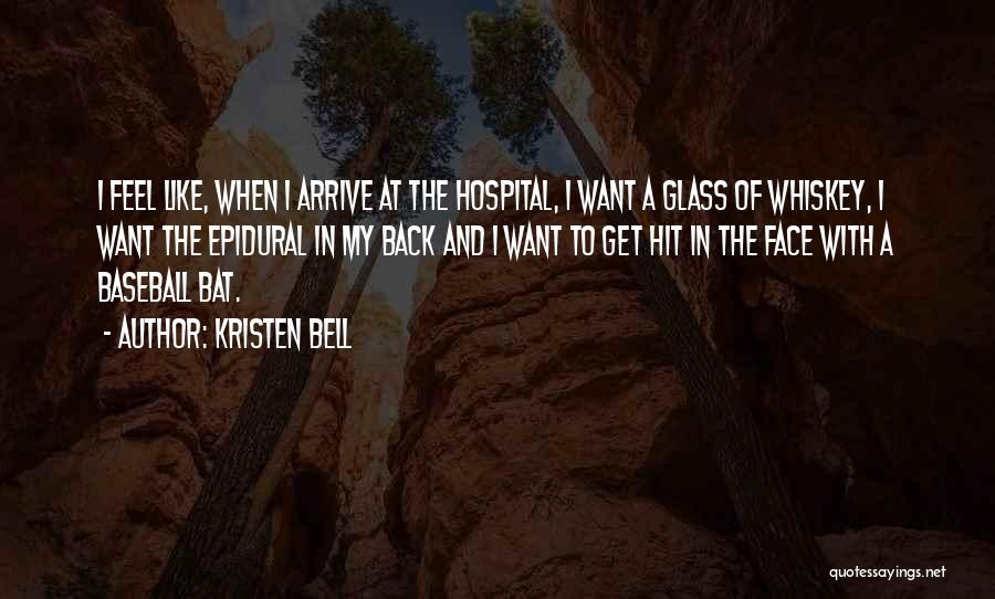 Epidural Quotes By Kristen Bell