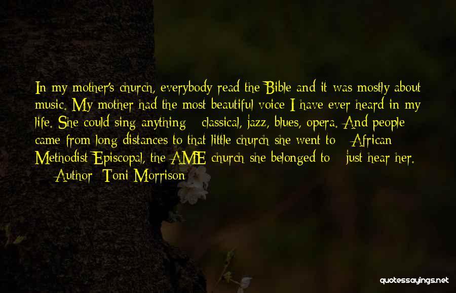 Episcopal Bible Quotes By Toni Morrison