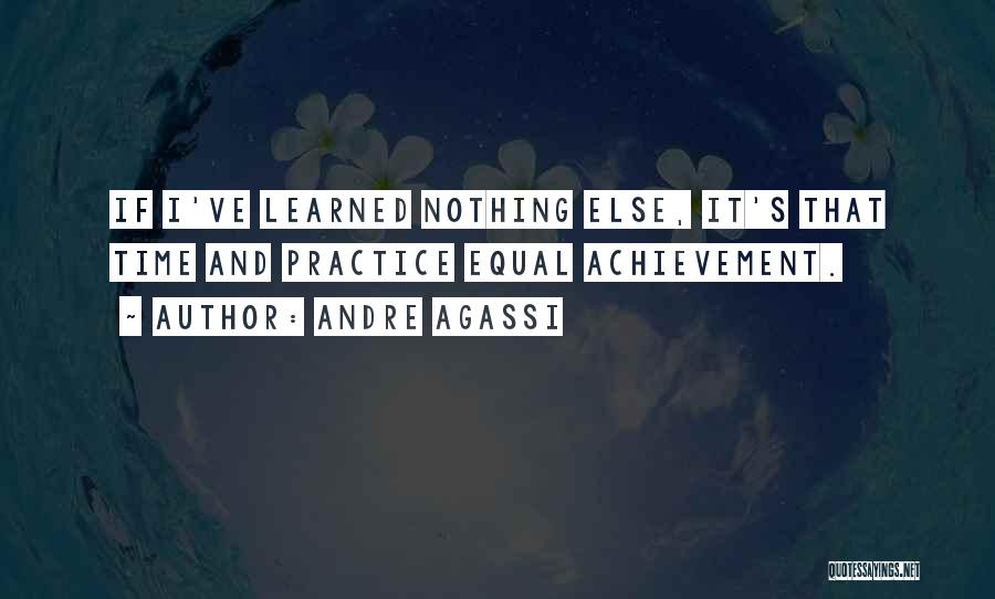 Equal Quotes By Andre Agassi