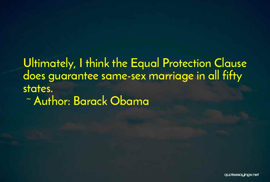 Equal Quotes By Barack Obama
