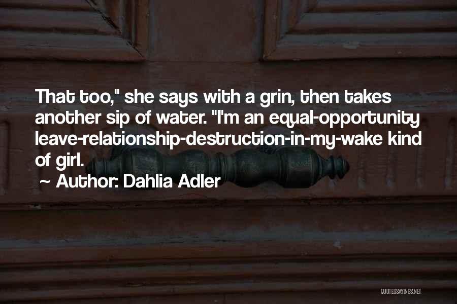 Equal Quotes By Dahlia Adler