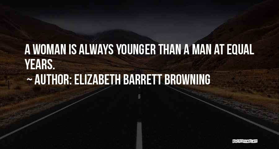 Equal Quotes By Elizabeth Barrett Browning
