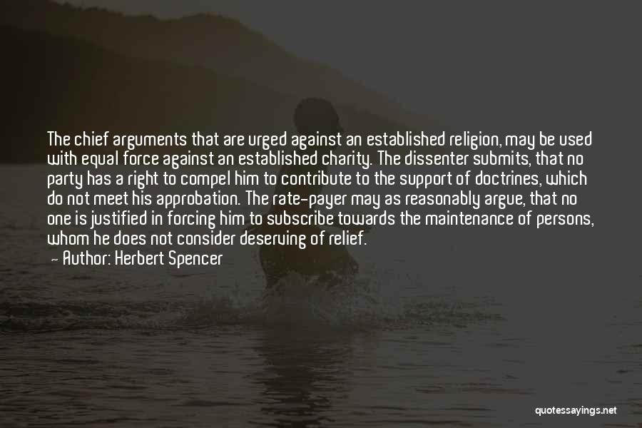 Equal Quotes By Herbert Spencer