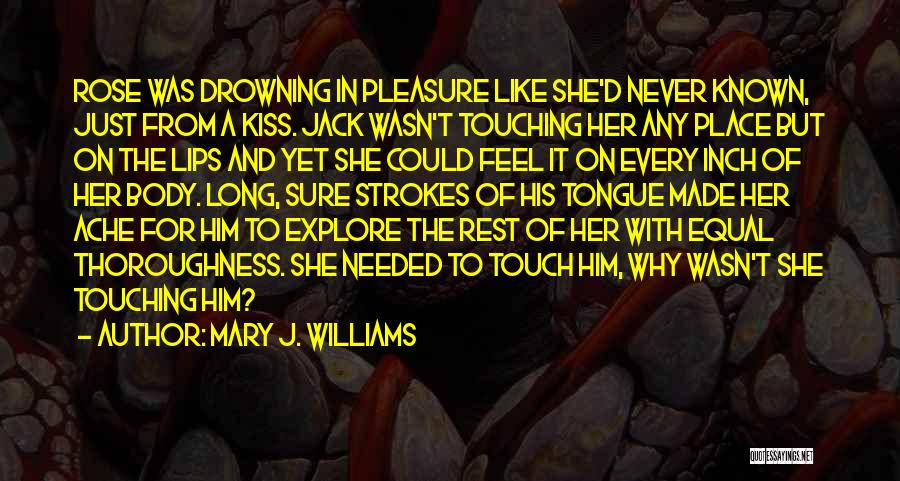 Equal Quotes By Mary J. Williams